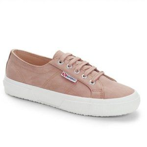 Superga 2750 rose low top suede sneakers Nwt